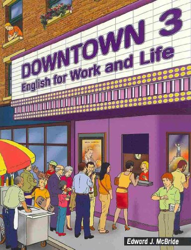 Downtown 3 English for Work and Life  2006 edition cover