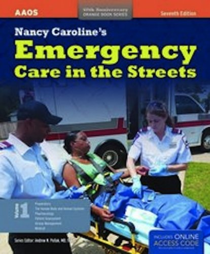 Nancy Caroline's Emergency Care in the Streets  7th 2013 edition cover