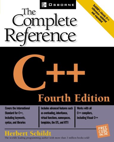 C++  4th 2002 (Revised) edition cover