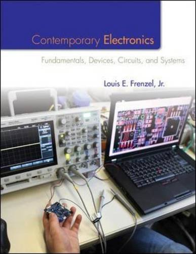 Contemporary Electronics Fundamentals, Devices, Circuits, and Systems  2014 edition cover