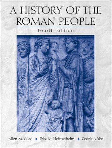 History of the Roman People  4th 2003 9780130384805 Front Cover