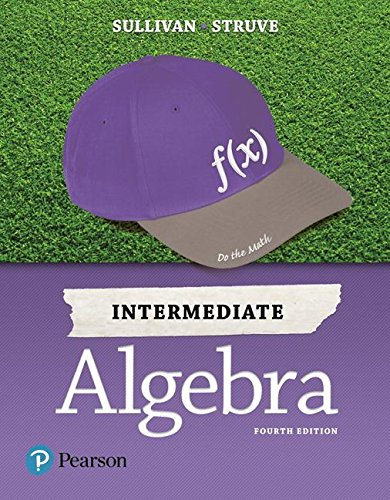 Intermediate Algebra:   2017 9780134555805 Front Cover