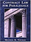 Contract Law for Paralegals   1997 edition cover