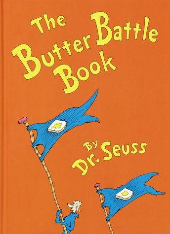 Butter Battle Book   1984 edition cover