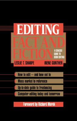 Editing Fact and Fiction A Concise Guide to Book Editing  1994 9780521450805 Front Cover