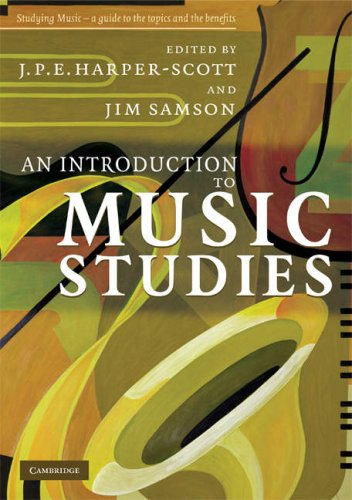 Introduction to Music Studies   2008 edition cover