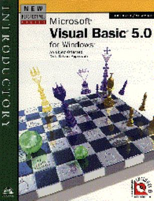 New Perspectives on Visual Basic 5.0 Introductory 10th 1998 9780760053805 Front Cover