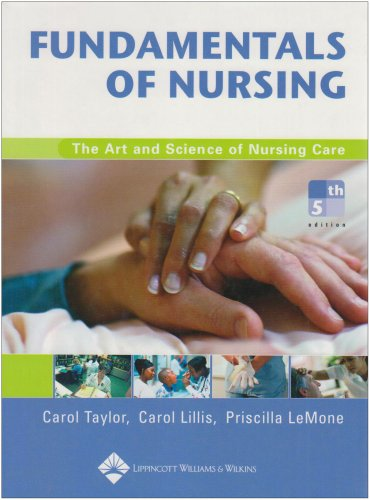 Study Guide for Fundamentals of Nursing The Art and Science of Nursing Care 5th 2005 (Revised) edition cover