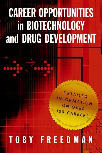 Career Opportunities in Biotechnology and Drug Development   2009 edition cover