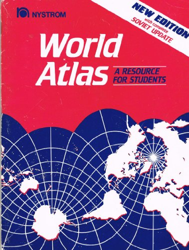 World Atlas : A Resource for Students 2nd 1995 (Revised) 9780884634805 Front Cover