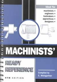 Machinists' Ready Reference 9th 2001 edition cover