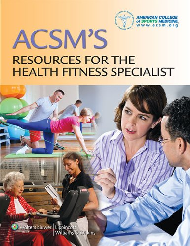ACSM's Resources for the Health Fitness Specialist   2014 edition cover