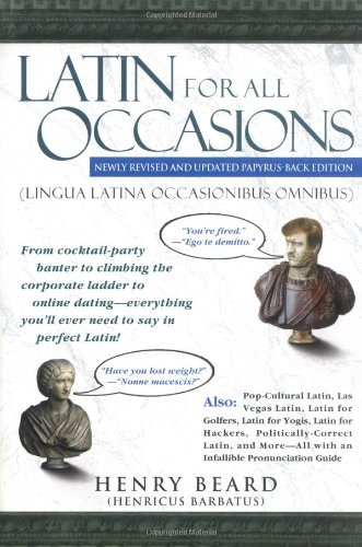 Latin for All Occasions   2004 edition cover