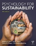 Psychology for Sustainability  4th 2016 (Revised) edition cover