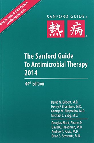 The Sanford Guide to Antimicrobial Therapy 2014: Library Edition  2014 edition cover