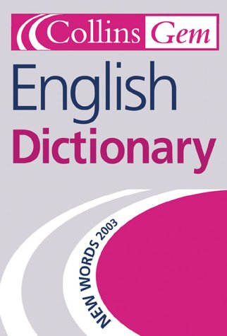 English Dictionary (Collins GEM) N/A edition cover