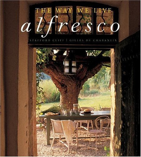 Way We Live Alfresco  N/A 9780060787806 Front Cover