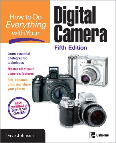 How to Do Everything: Digital Camera  5th 2008 (Revised) 9780071495806 Front Cover