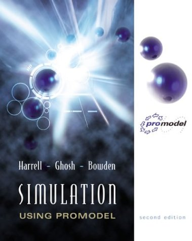 Simulation Using Promodel  2nd 2004 (Revised) edition cover
