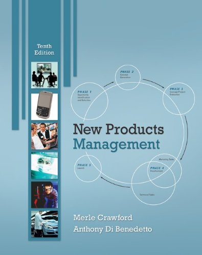 New Products Management  10th 2011 edition cover