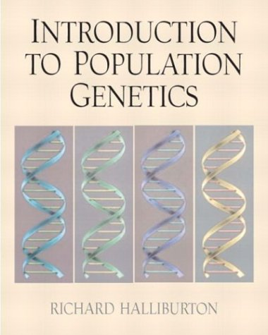 Introduction to Population Genetics   2004 edition cover