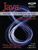 Java How to Program (Early Objects)  10th 2015 edition cover