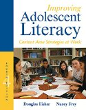 Improving Adolescent Literacy: Content Area Strategies at Work  2015 9780133878806 Front Cover