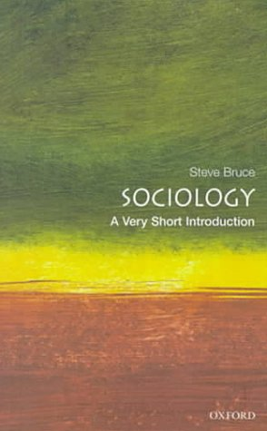 Sociology   2000 9780192853806 Front Cover