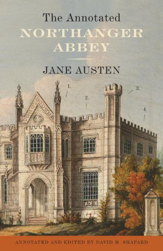 Annotated Northanger Abbey   2013 edition cover