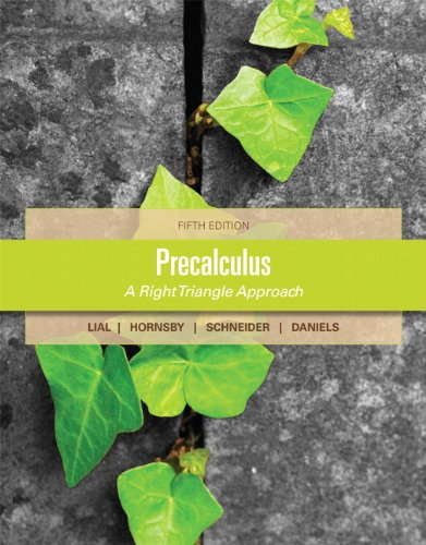 Precalculus  5th 2013 (Revised) edition cover