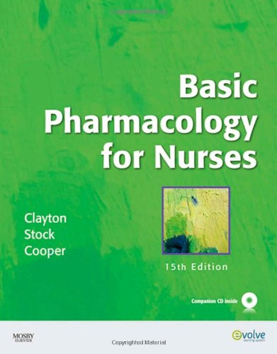 Basic Pharmacology for Nurses  15th 2009 edition cover