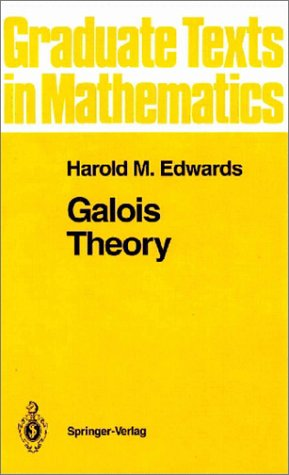 Galois Theory   1984 (Reprint) edition cover