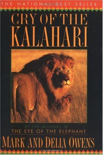 Cry of the Kalahari   1992 edition cover