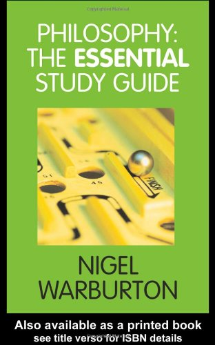 Philosophy The Essential Study Guide  2004 9780415341806 Front Cover