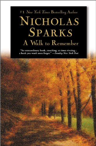 Walk to Remember  N/A edition cover