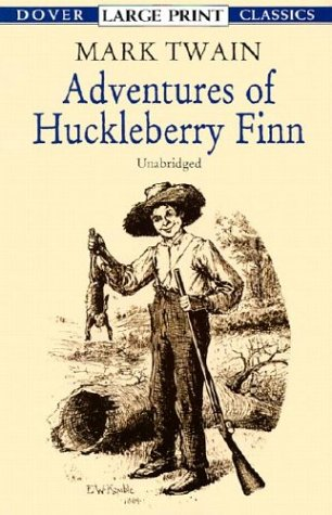 Adventures of Huckleberry Finn   2001 9780486417806 Front Cover