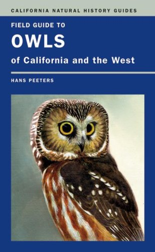 Field Guide to Owls of California and the West   2007 edition cover