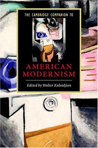 Cambridge Companion to American Modernism   2005 edition cover