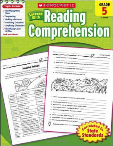 Scholastic Success with Reading Comprehension   2010 9780545200806 Front Cover