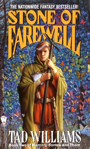 Stone of Farewell Book Two of Memory, Sorrow, and Thorn  1990 (Reprint) 9780886774806 Front Cover