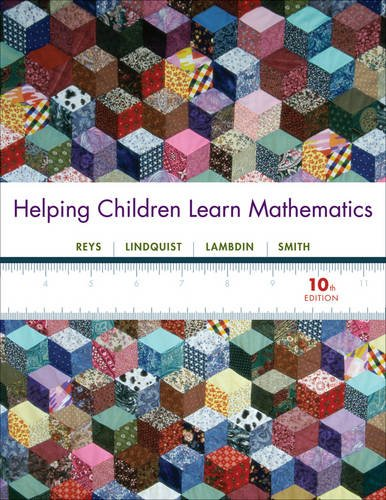 Helping Children Learn Mathematics  10th 2012 edition cover