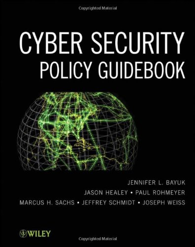 Cyber Security Policy Guidebook   2012 edition cover