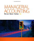 Managerial Accounting:   2015 edition cover