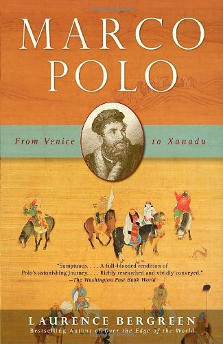 Marco Polo From Venice to Xanadu N/A edition cover