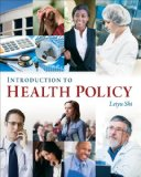 Introduction to Health Policy:   2013 edition cover