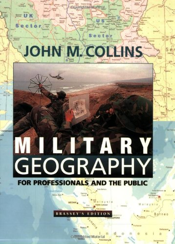 Military Geography For Professionals and the Public  1998 edition cover