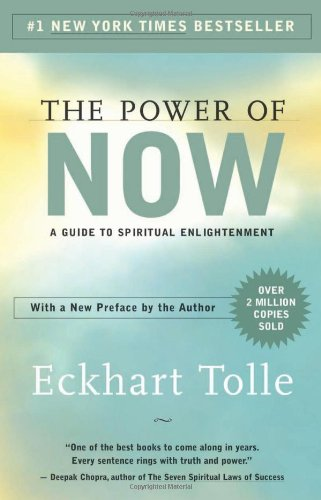 Power of Now A Guide to Spiritual Enlightenment  1999 edition cover