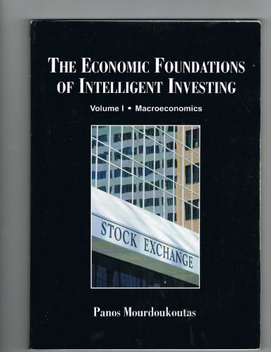 ECONOMIC FOUND.OF INTELLIGENT...-VOL.1  N/A 9781581526806 Front Cover