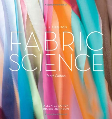 Fabric Science  10th 2012 edition cover
