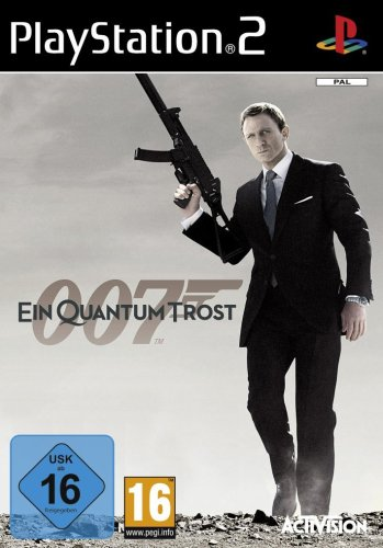 James Bond 007 - Ein Quantum Trost [Software Pyramide] PlayStation2 artwork